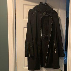 Like New- BCBGeneration black coat